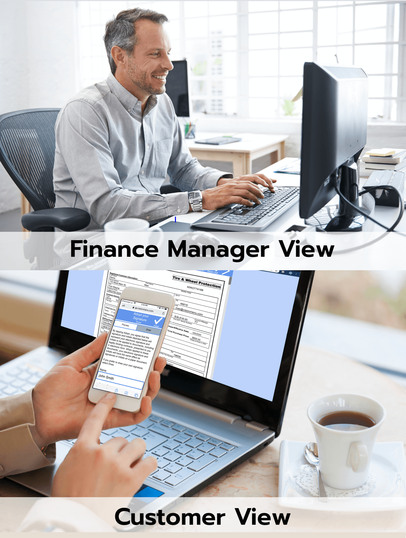 Manager-customer-view